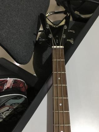 Custom made Dean MetalMan Z by ER Guitars